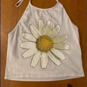 Cotton bohemian style halter top